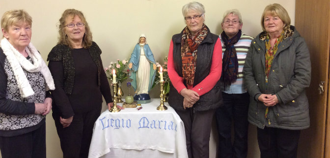 Legion of Mary members